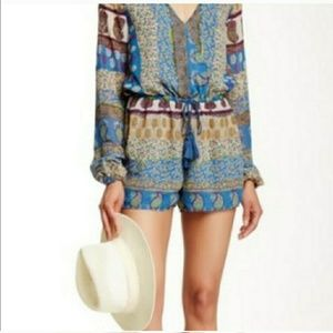 Loveriche Paisley Printed Romper!  Sz: Large